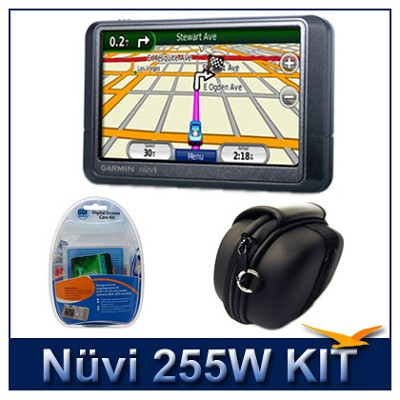 nuvi 255W Portable GPS navigation - Super-Savings Kit