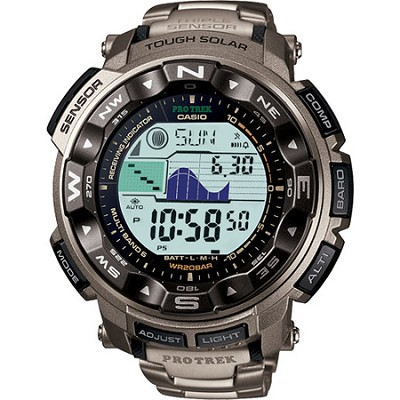 PRW2500T-7 - Triple Sensor Altimeter Watch - OPEN BOX