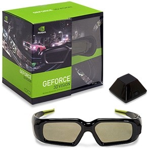 3D Vision Stereoscopic Glasses