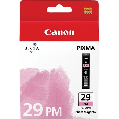 PGI-29 PM - LUCIA Series Photo Magenta Ink Cartridge for PIXMA PRO-1 Printer