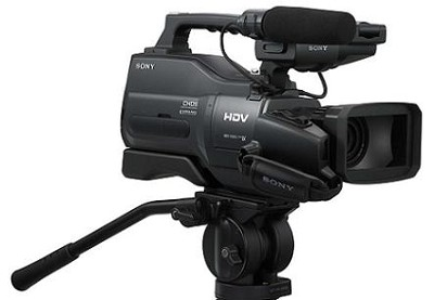 HVR-HD1000U Shoulder-Mount Pro HDV Camcorder - OPEN BOX