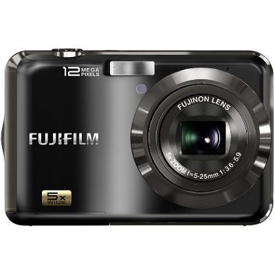 Finepix AX200 12 MP 5x Wide Angle Zoom Digital Camera (Black)