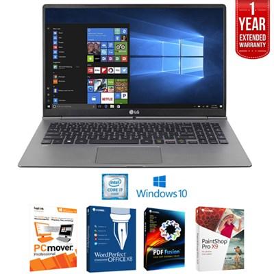 15Z970-U.AAS5U1 Gram 15.6` FHD Intel i5-7200U Laptop+Software+Warranty Bundle