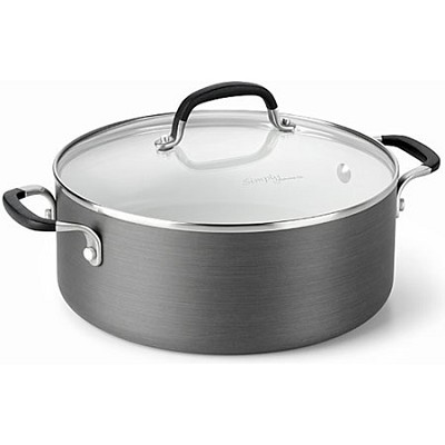 5-qt.Hard-Anodized Ceramic Nonstick Dutch Oven - 1882020
