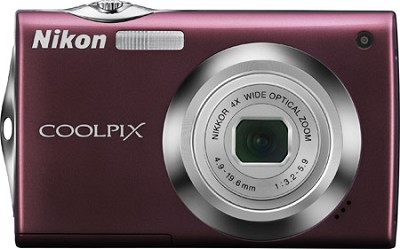 COOLPIX S4000 Digital Camera (Plum)