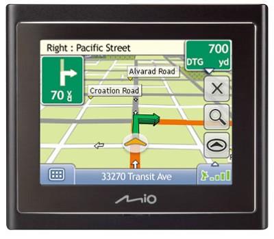 Moov 200 Portable Car Navigation System