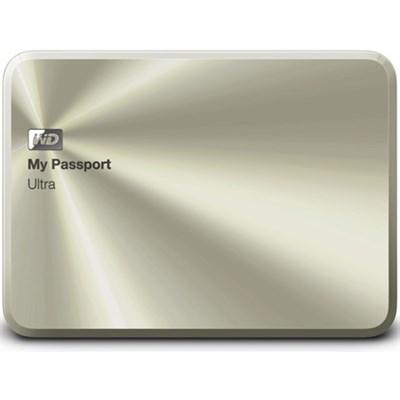 My Passport Ultra Metal Edition 1TB Gold - WDBTYH0010BCG-NESN - OPEN BOX