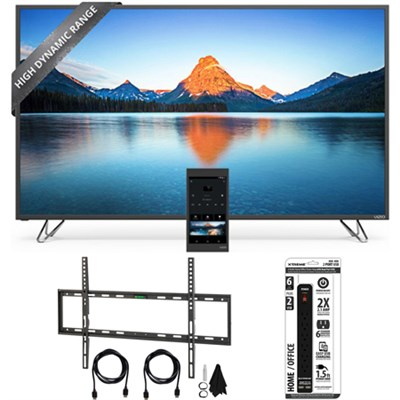 M65-D0 - 65-Inch 4K SmartCast M-Series Ultra HD HDR LED TV w/ Wall Mount Bundle