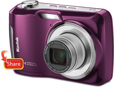 EasyShare C195 14MP 3.0 inch LCD Digital Camera - Purple