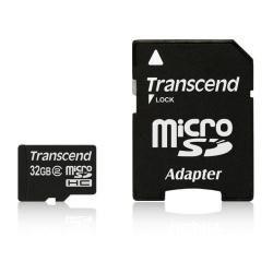 TS32GUSDHC2  -  32 GB Micro SDHC Memory Card MicroSD