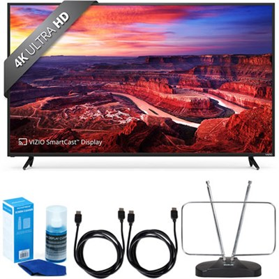 E50-E3 SmartCast 50` LED UHDTV w/ FM Antenna Accessory Bundle