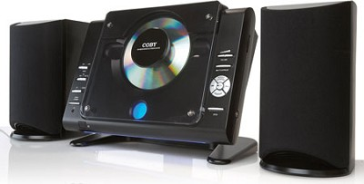 Micro CD Player Stereo System with AM/FM Tuner