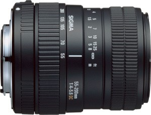 55-200mm f/4-5.6 DC Zoom Lens for Canon EOS Digital SLR