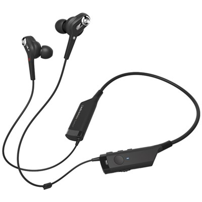ATH-ANC40BT QuietPoint Active Noise-Cancelling Wireless In-Ear Headphones