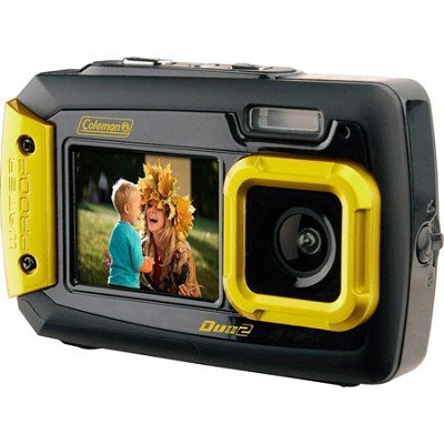 Duo2 2V9WP Rugged Dual Screen Waterproof Camera - Yellow