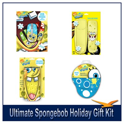 Ultimate Spongebob Holiday Gift Kit