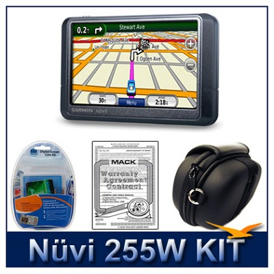 nuvi 255W Portable GPS navigation
