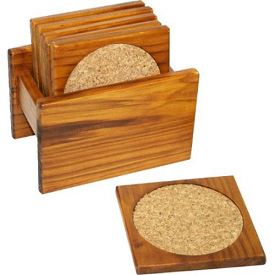 Pine 6-Piece Coaster Set CS01132