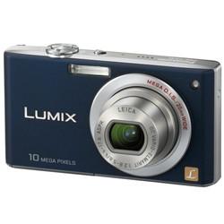 DMC-FX35A - Slim Compact 10 Megapixel Digital Camera (Blue) w/ 2.5- inch LCD