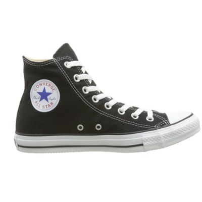 Chuck Taylor All Star High Top Sneakers (Black) Size 9