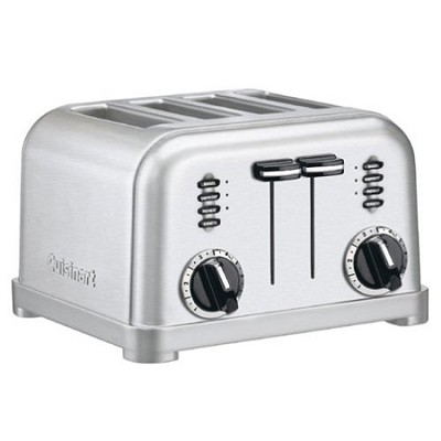 CPT-180 4-Slice Metal Classic Toaster - Brushed Stainless