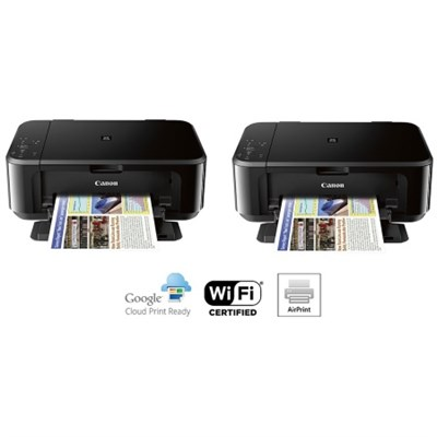 2-Pack of Pixma MG3620 Wireless Inkjet All-In-One Multifunction Printer