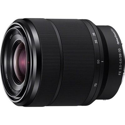 SEL2870 FE 28-70mm F3.5-5.6 OSS Full Frame E-Mount Lens