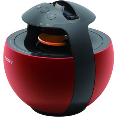 RDPV20IP/RED Portable Dock Speaker for iPod and iPhone (Red) - OPEN BOX