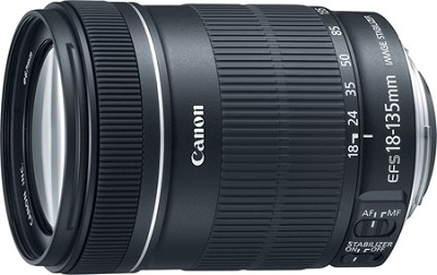 EF-S 18-135mm f/3.5-5.6 IS Standard Zoom Lens - OPEN BOX