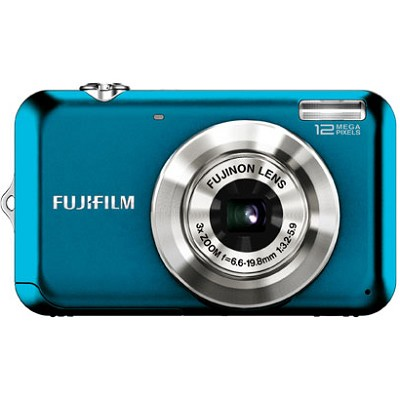 FINEPIX JV100 12 MP Digital Camera (Blue)