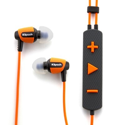 Image S4i Rugged Orange In-Ear Headphones