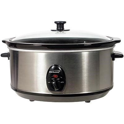 6.5 Quart Slow Cooker in Stainless Steel - SC-150S