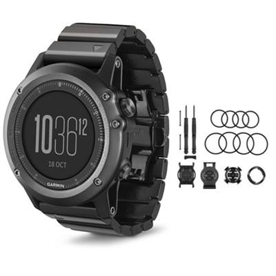 fenix 3 Multisport Training GPS Watch Sapphire Quick Release Mounting Kit Bundle