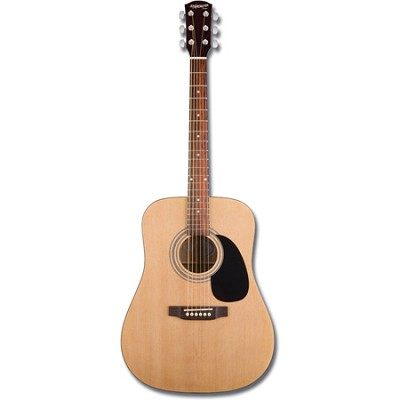 Starcaster Acoustic Guitar Starter Pack, Natural