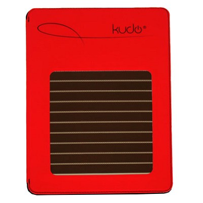 Solar Case with HDMI for iPad2 / iPad3 - Red