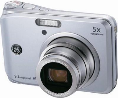 A950 9.1MP 2.5` LCD 5x Zoom Digital Camera (Silver)