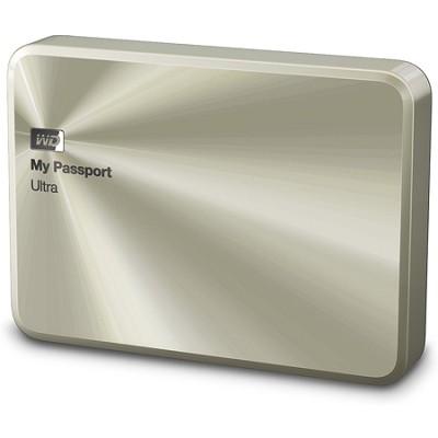 My Passport Ultra Metal 2 TB Champagne Portable Hard Drive