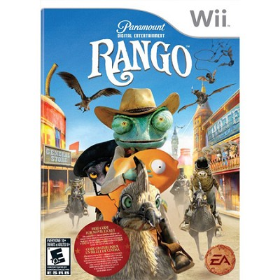 Rango for Nintendo Wii