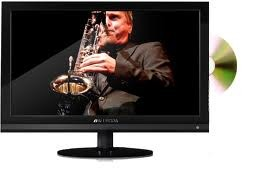 24 inch LCD with built in DVD Player