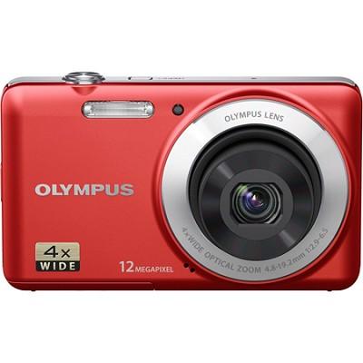 VG-110 12MP 4x Optical Zoom Red Digital Camera