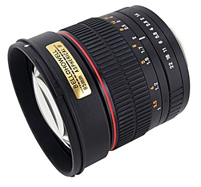 85MAF-N - 85mm f/1.4 Aspherical Lens for Nikon DSLR Cameras - OPEN BOX