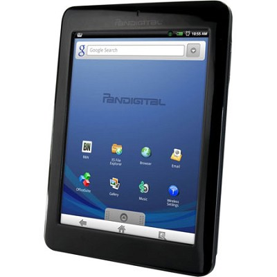 Multimedia Novel 7` Android Multimedia eReader & Color Tablet