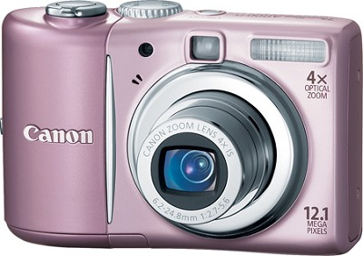 PowerShot A1100 12MP Digital Camera (Pink)