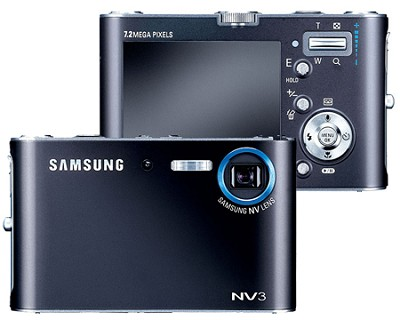 NV3 7.2.MP Digital Camera With 3x Optical Zoom