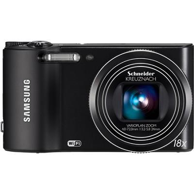 WB150F 14 MP 18X Optical Zoom Wi-Fi Digital Camera - Black - OPEN BOX