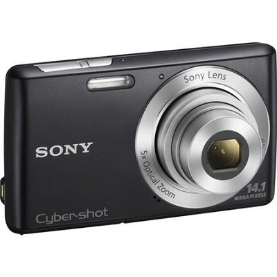 Cyber-shot DSC-W620 Black Compact Digital Camera 5x Optical Zoom, HD Video