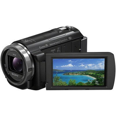HDR-PJ540/B Full HD 60p/24p Camcorder w/ Balanced Optical SteadyShot - OPEN BOX
