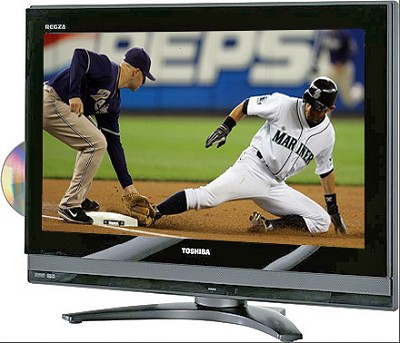 26LV47 - REGZA 26` High-definition LCD TV w/ built-in DVD Player