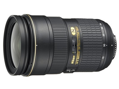AF-S NIKKOR 24-70mm f/2.8G ED Lens, With Nikon 5-Year USA Warranty