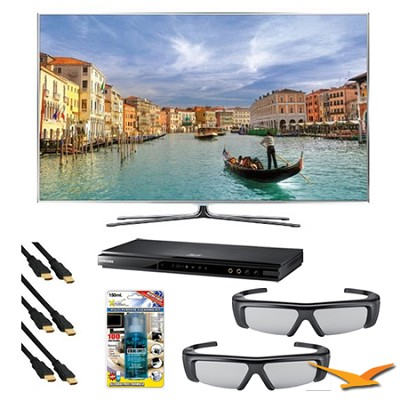 UN55D8000 55 inch 240hz 3D LED HDTV with Blu Ray